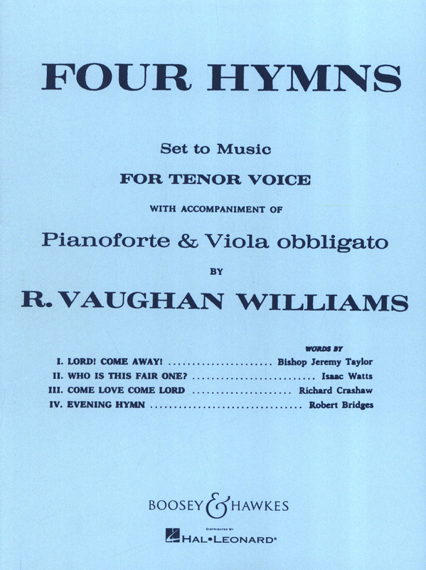 Ralph Vaughan Williams: Four Hymns