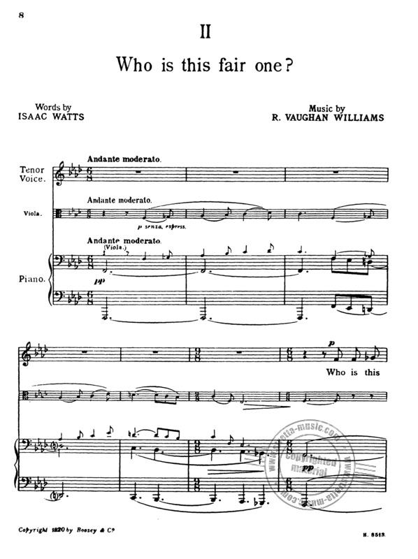 Ralph Vaughan Williams: Four Hymns (2)