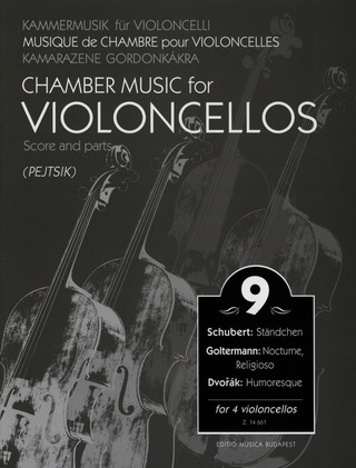Chamber Music for Violoncellos 9