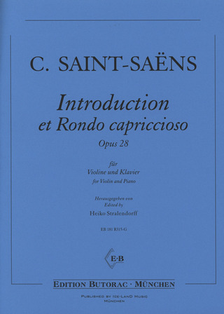 Camille Saint-Saëns: Introduction et Rondo capriccioso op. 28
