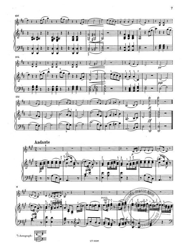 Franz Schubert: Sonata (Sonatine) for violin and piano op. 137/1 D 384 (2)