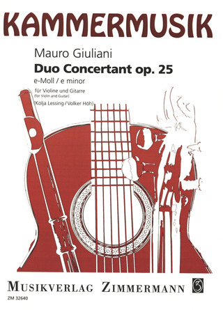 Mauro Giuliani: Duo concertant op. 25