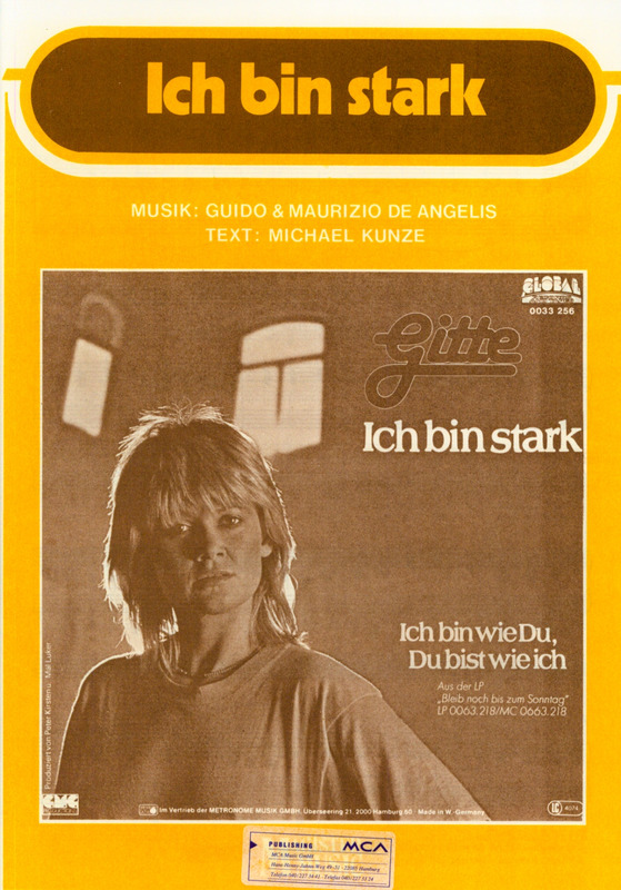 Ich Bin Stark von Gitte | im Stretta Noten Shop kaufen