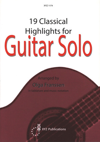 19 Classical Highlights for Guitar Solo