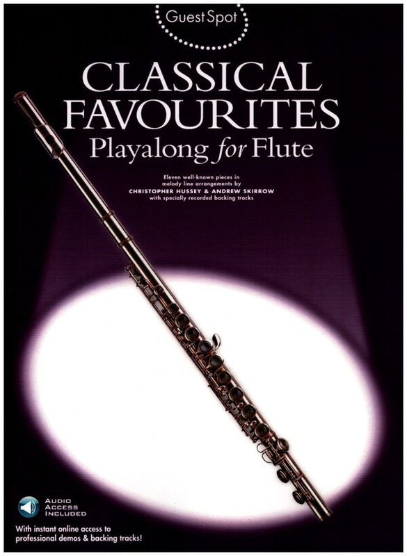 Guest Spot Classical Favourites for Flute