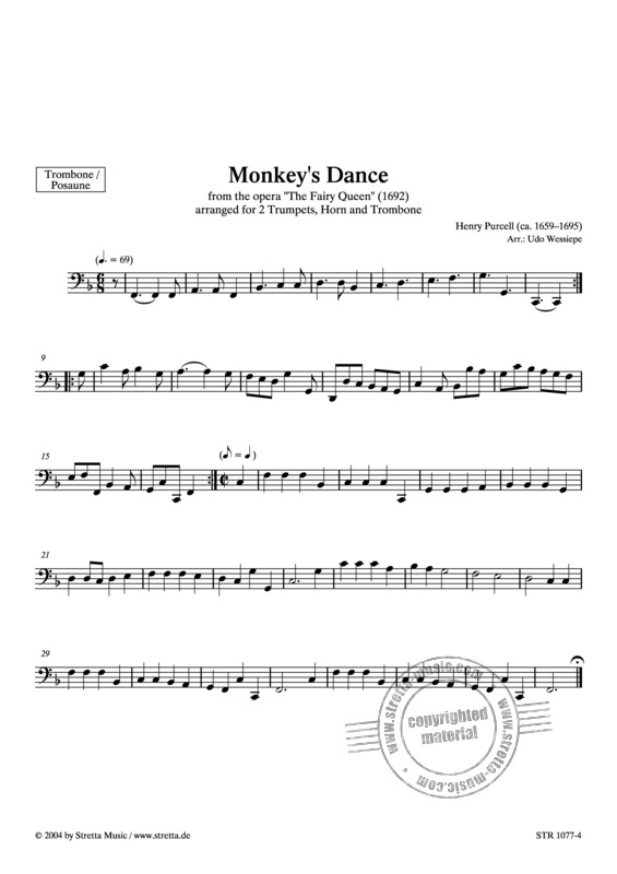 Henry Purcell: Monkey's Dance (3)