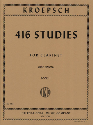 Fritz Kroepsch: 416 Studies Vol. 2