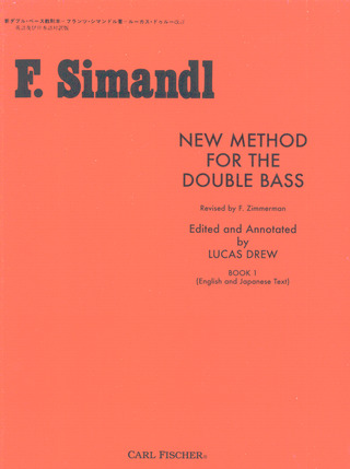 Franz Simandl: New Method For The Double Bass 1
