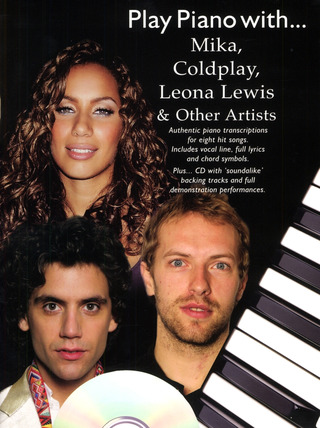 Play Piano With Mika, Coldplay, Leona Lewis And Other Artists (Book An