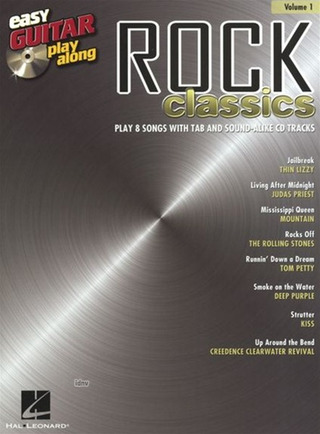 Easy Guitar Play-Along Volume 1: Rock Classics