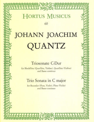 Johann Joachim Quantz: Trio Sonata in C major