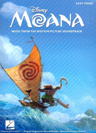 Lin-Manuel Miranda: Moana: Music From The Motion Picture Soundtrack (Easy Piano)