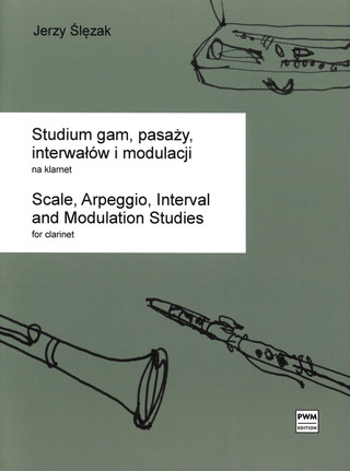 Jerzy Ślęzak: Scale, Arpeggio, Interval and Modulation Studies
