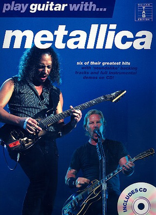 Metallica: Metallica Play Guitar With Tab Bk/Cd
