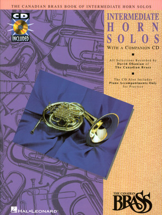 Canadian Brass: Book Of Intermediate Horn Solos
