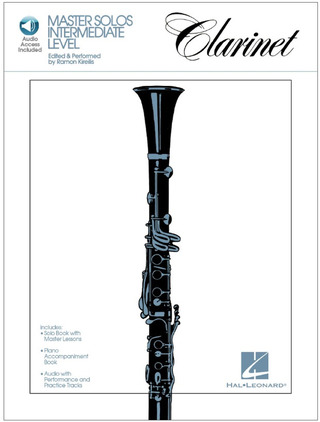 Master Solos Intermediate Level: Clarinet