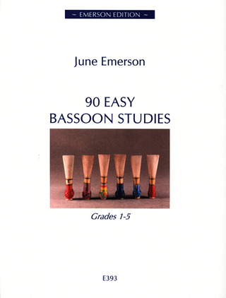 Roger Emerson: 90 Easy Bassoon Studies