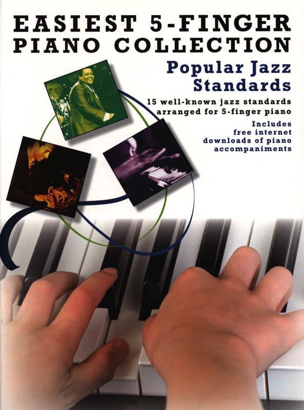 Easiest 5-Finger Piano Collection: Popular Jazz Standards