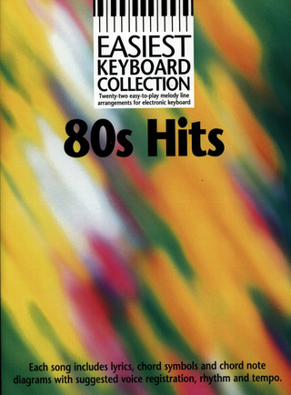 Easiest Keyboard Collection 80S Hits MLC