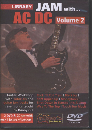 AC/DC: Lick Library: Jam With AC/DC Volume 2