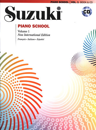 Shin'ichi Suzuki: Suzuki Piano School Vol.1 + CD