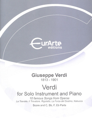 Giuseppe Verdi: Verdi For Solo Instrument And Piano