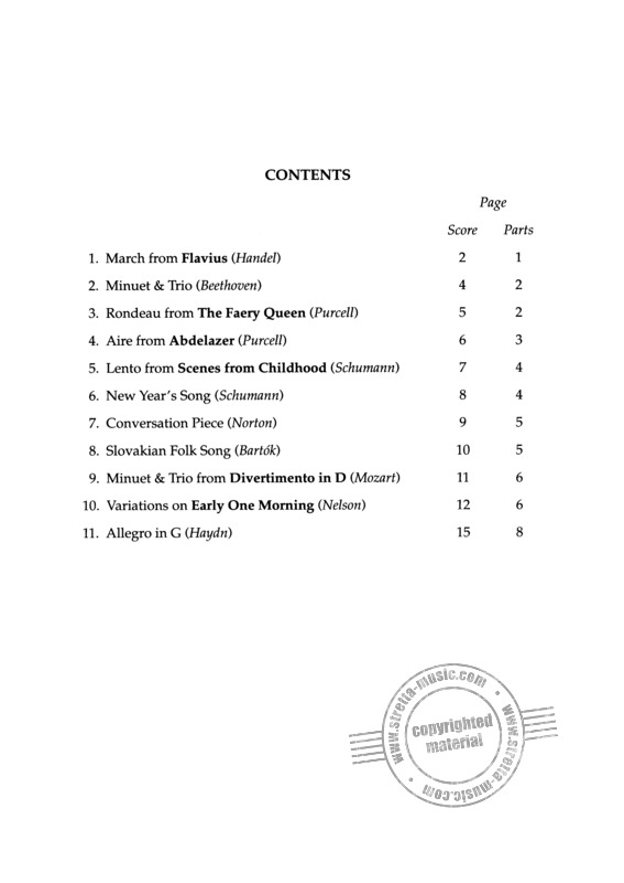 Quartet Club 1 from Sheila Nelson | buy now in Stretta sheet
