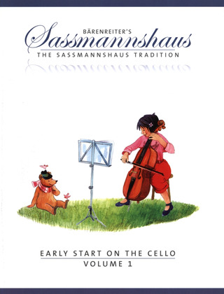 Egon Saßmannshaus: Early Start on the Cello, Volume 1