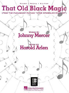 Harold Arlen: That Old Black Magic Pvg From Star Spangled Rhythm