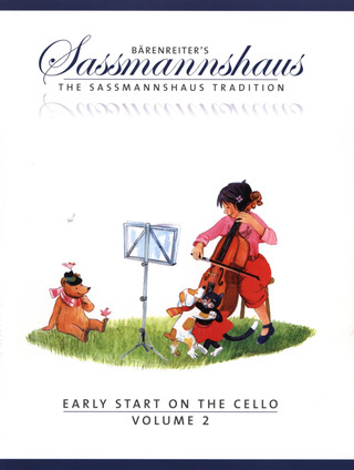 Egon Saßmannshaus: Early Start on the Cello, Volume 2