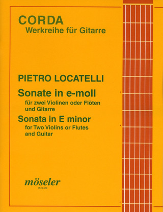 Pietro Antonio Locatelli: Sonate e-Moll op. 5/2