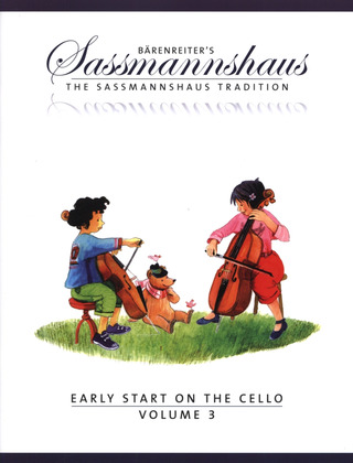 Egon Saßmannshaus: Early Start on the Cello, Volume 3