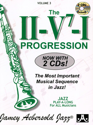 Jamey Aebersold: The II-V-I Progression Vol. 3