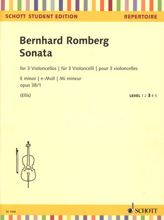 Bernhard Romberg: Sonate e-Moll op. 38/1 – Level 3