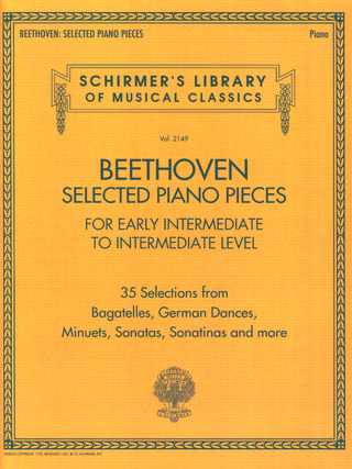 Ludwig van Beethoven: Selected Piano Pieces – Early Intermediate To Intermediate