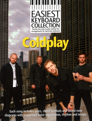 Coldplay: Easiest Keyboard Collection: Coldplay Mlc Book