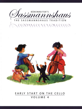 Egon Saßmannshaus: Early Start on the Cello, Volume 4