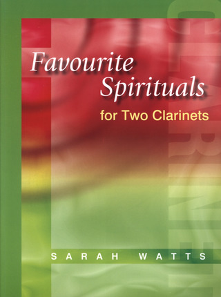 Favourite Spirituals For 2 Clarinets