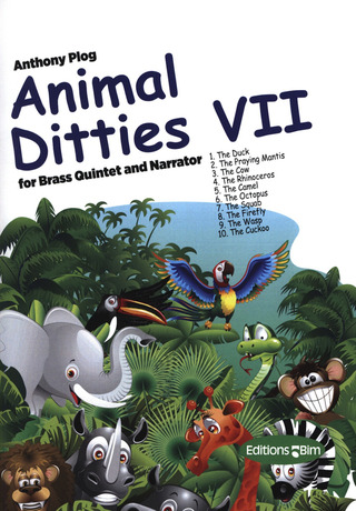 Anthony Plog: Animal dittis vol. 7