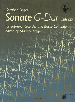 Gottfried Finger: Sonate G-Dur