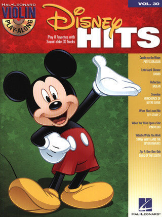 Violin Play-Along 30: Disney Hits