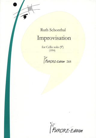 Ruth Schonthal: Improvisation for Solo Cello (1994)