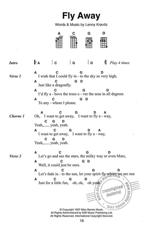 Down Under ( Men At Work ) ‒ Guitar- and Ukulele chords ...