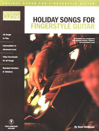Sean McGowan: Holiday Songs for Fingerstyle Guitar