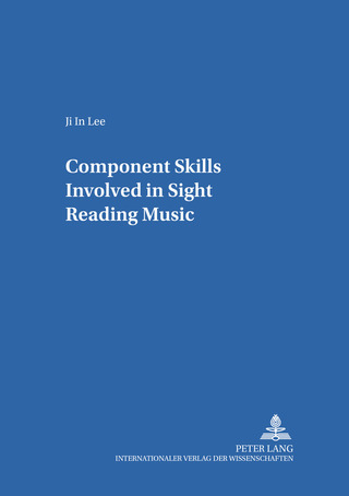Ji-In Lee: Component Skills Involved in Sight Reading Music
