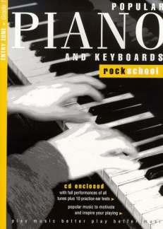 Popular Piano and Keyboard Rock School 1