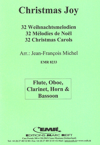 Jean-François Michel: 32 Christmas Carols