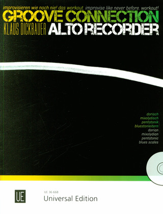Klaus Dickbauer: Groove Connection 2 – Alto Recorder