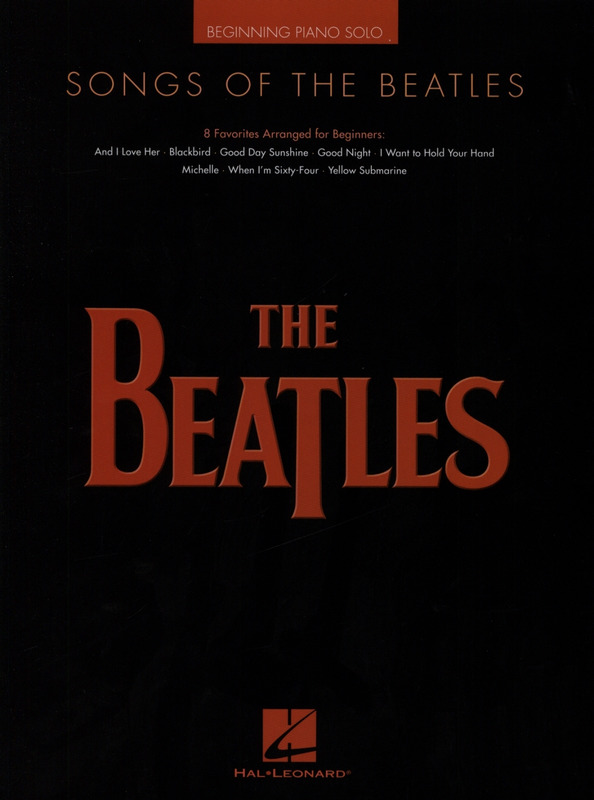 The Beatles: Songs Of The Beatles - Beginning Piano Solo