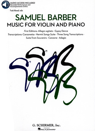 Samuel Barber: Music for violin and piano
